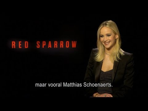 Jennifer Lawrence talks about Matthias Schoenaerts and tries to pronounce his name