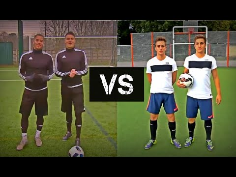 F2Freestylers VS SkillTwins | Ultimate Skills Battle 2016! HD