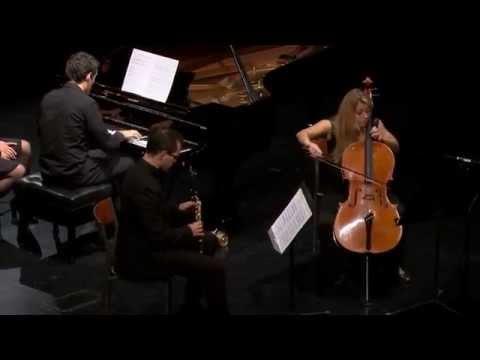 Muczynski - Fantasy Trio for clarinet, cello, and piano, Op.26