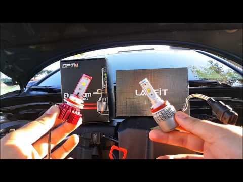 lasfit vs opt7 led headlight bulb