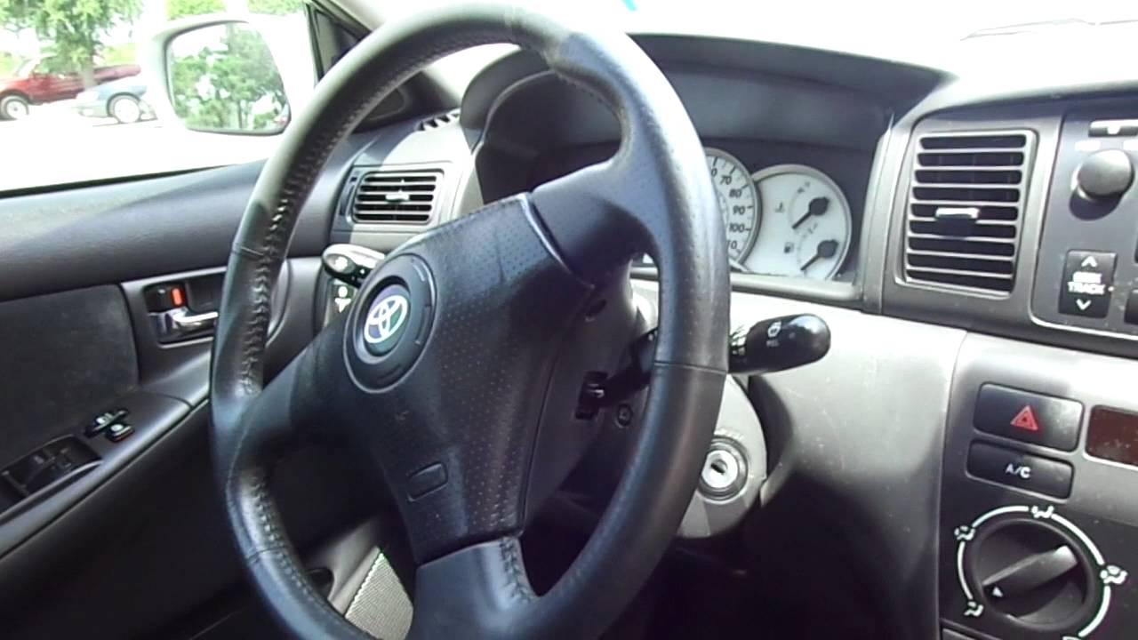 2008 Toyota Corolla S Youtube