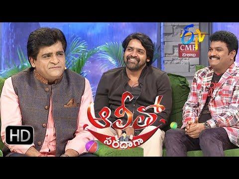 Alitho Saradaga  18th September 2017  Khayyum  Siva Reddy l Full Episode  ETV Telugu