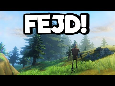 Fejd Gameplay Impressions - Viking Survival Crafting Sandbox Simulator!