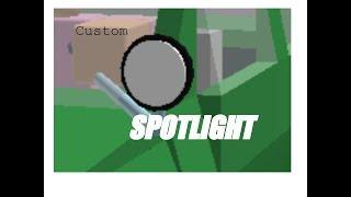 [ESTUDIO DE ROBLOX] Personalizado / Edición de un Spotlight!