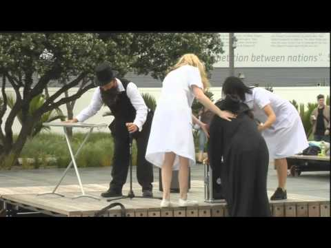 The Babysitters Circus - Behind The Flash Mob Scenes