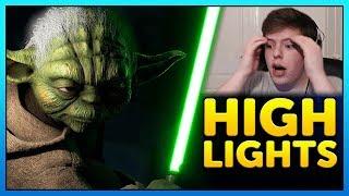 RAGE QUIT, Memes, Anakin + Ewoks  - Battlefront 2 Funny Moments