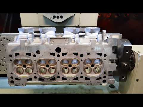 VW 2.0 ABF Porting cylinder head together Intake manifold with Dimpling finish.