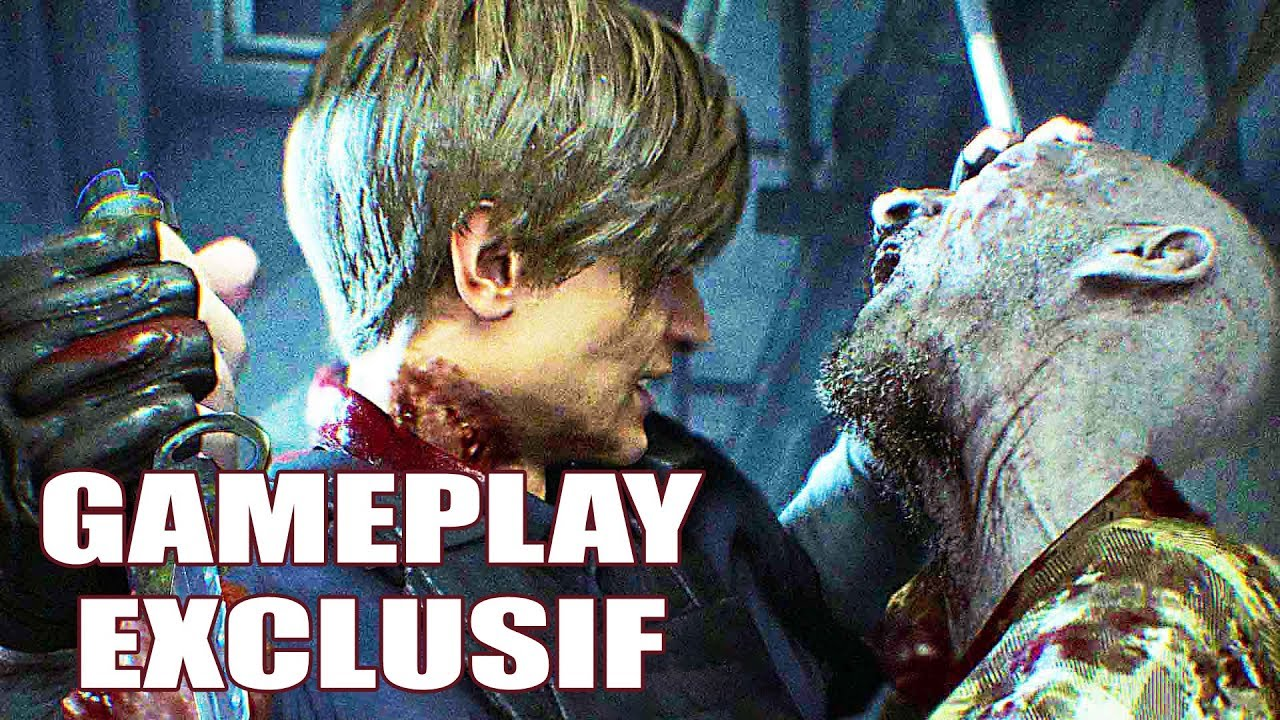 RESIDENT EVIL 2 Remake Gameplay (LET'S PLAY EXCLUSIF)
