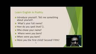 Learn English in Pashto Part 33
