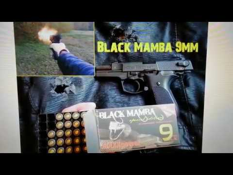 Good for Self Defence? Strong Black Mamba 9mm Ammo vs Jacket and Steel