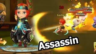 LINE Dragonica Mobile รีวิว อาชีพ Assassin