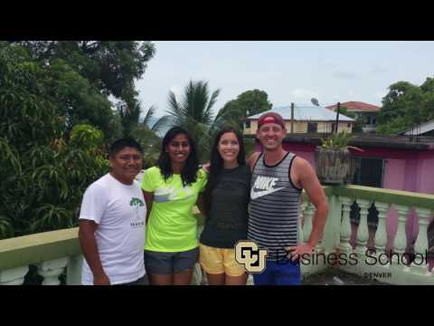 CU Denver in Belize: Business Service Learning