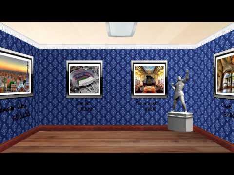 Art Gallery Room Template Sony Vegas