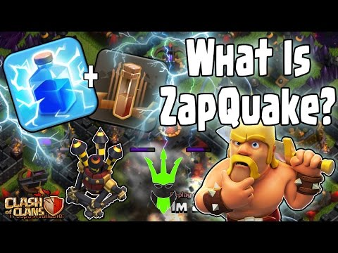 WHAT IS ZAPQUAKE? - How to ZapQuake Guide - Clash of Clans - Lightning Spell Event