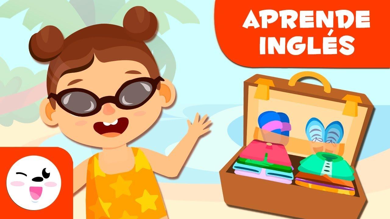 Ropa De Verano En Inglés Vocabulario En Inglés Para Niños Youtube