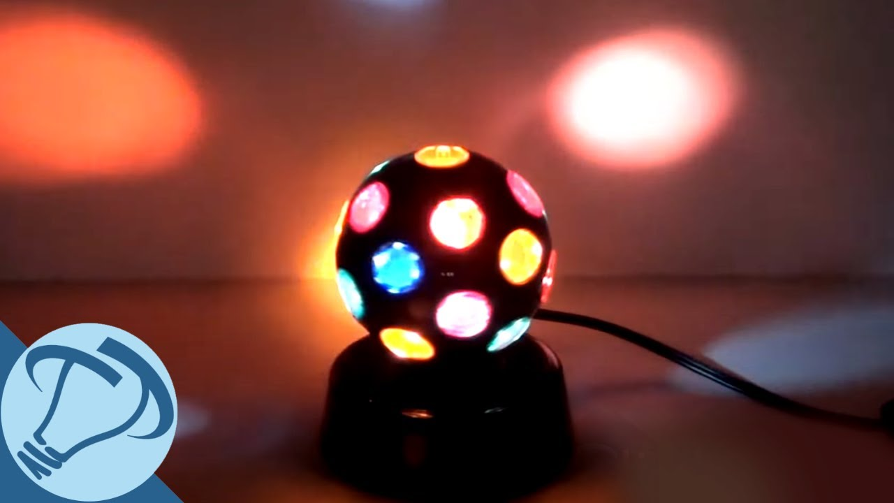 disco ball light 4 quot black rotating disco with 21 points of light from 28675