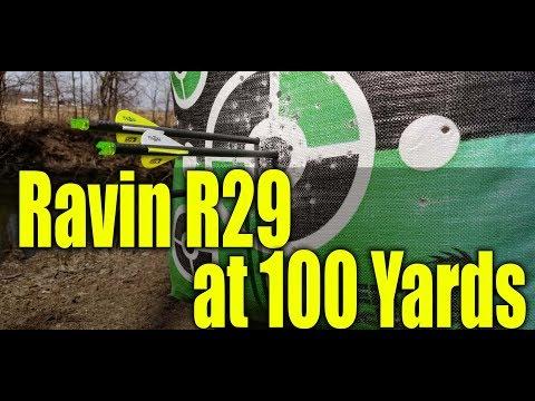 Ravin R29 at 100 Yards!
