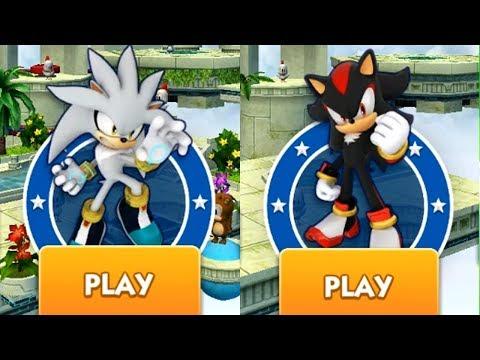 Sonic Dash Battle - SILVER VS SHADOW