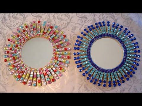 DIY Starburst Mirror | Room Decor | Gift Ideas | Easy Crafts For Kids