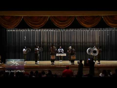Coahoma Community College - Percussion Section @ the 2017 WHS BOTD