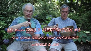 Daily 10 min Health Meditation~Use Everyday to Bring Well Being & Balance www.templesounds.net