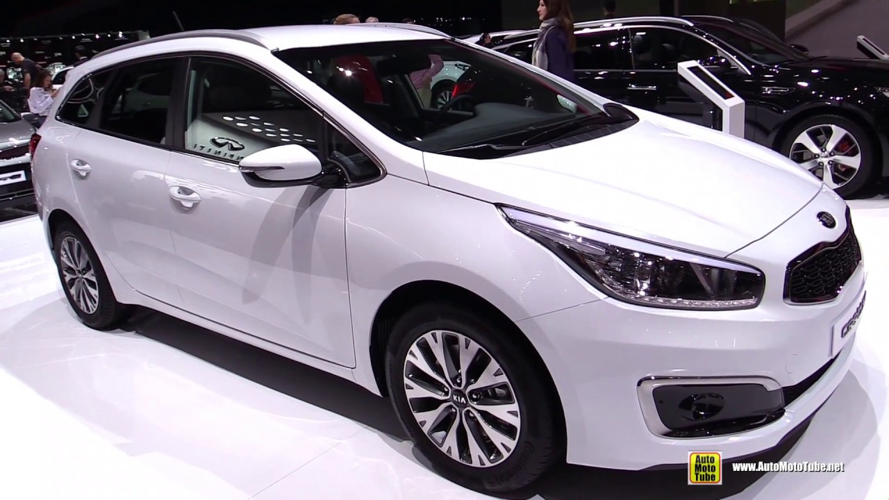 2017 kia ceed sw exterior and interior walkaround 2017. Black Bedroom Furniture Sets. Home Design Ideas