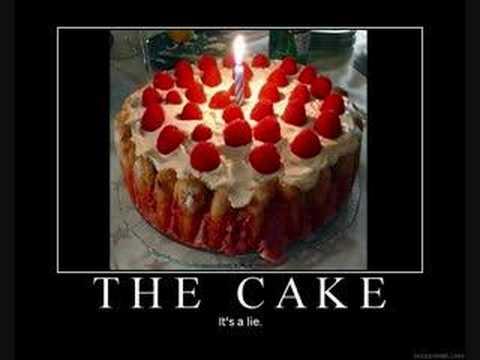Make The Portal Cake