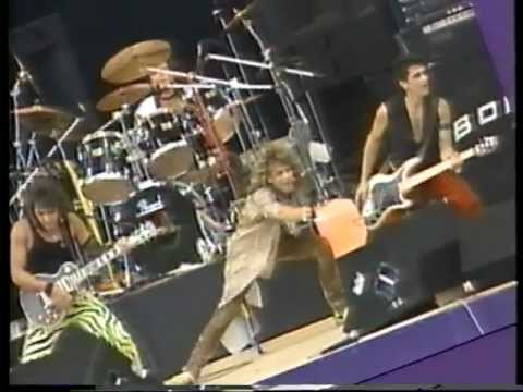 Bon Jovi - Runaway (Super Rock, Japan 1984)