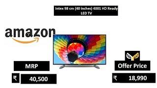 Intex 98 cm 40 inches 4001 HD Ready LED TV
