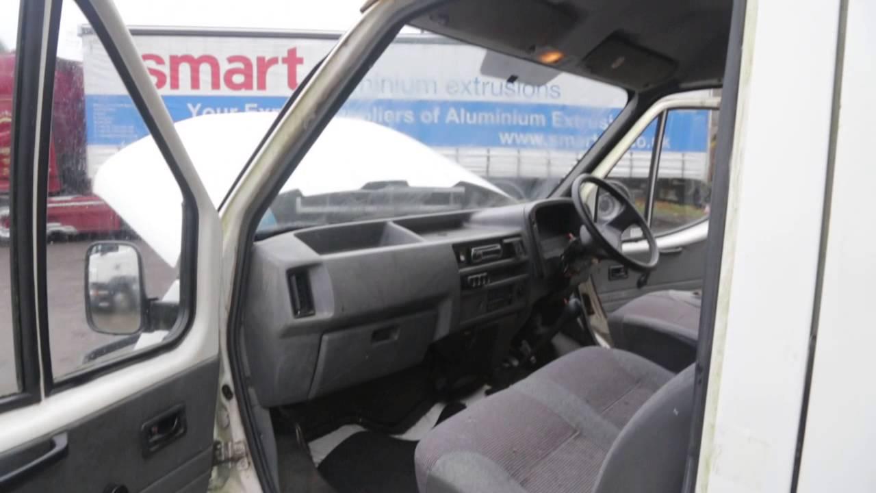1990 Ford Camper Van >> 1990 MK3 Ford Transit Barn Find Restoration - YouTube