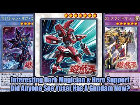 Interesting Dark Magician Hero Support Did Anyone See Yusei Has