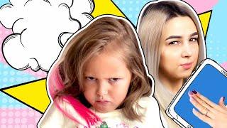 Амелька и Мама ПОССОРИЛИСЬ! Амелия не хочет идти в аквапарк. Кто виноват в ссоре и кто извинится?