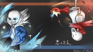【回憶】Undertale 悪ノ召使改編 ─ 惡之兄長  中文翻唱 (建議使用耳機) thumbnail