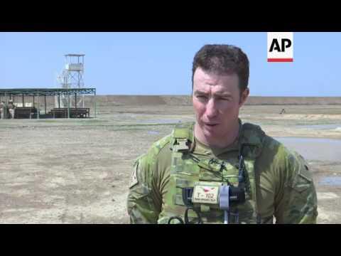 Australian Officers Train Iraq Forces Near Baghdad