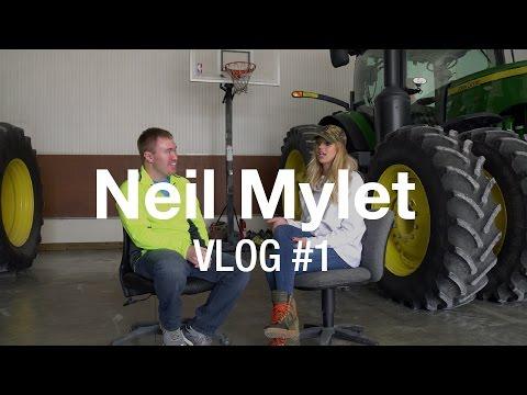 Farming, Soccer & Entrepreneurship with guest Lauren Sesselmann | Neil Mylet - VLOG #1