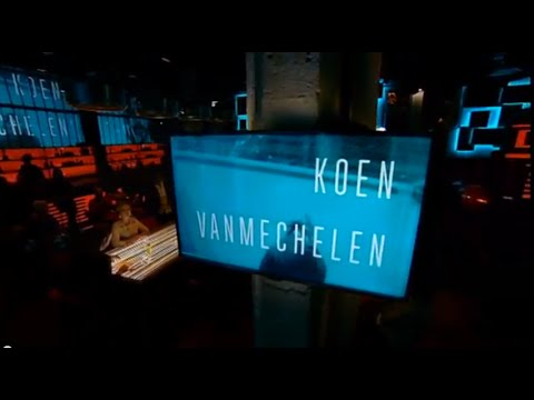 Koen Vanmechelen in Cafe Corsari, 25 NOV 2014