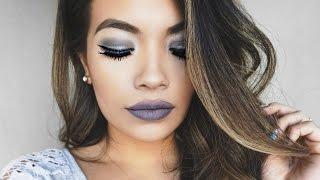 Stone/Grey Lips Full Makeup Tutorial | Belinda Selene
