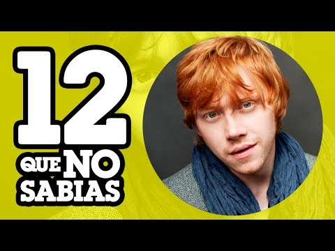 12 Cosas que NO sabias de RUPERT GRINT (ft. Little Geek)