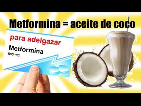 Aceite de coco para adelgazar (dosis) - YouTube