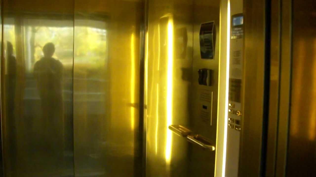 Garage Parking Stop >> Nice OTIS GEN2 MRL Traction elevator @ SAS Radisson BLU ...