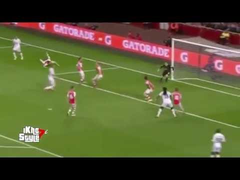 Bafetimbi Gomis Goal - Arsenal vs Swansea City 1-0 (Premier League 2015) HD