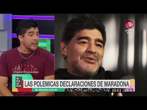 El contraataque de Flor de V ante Maradona