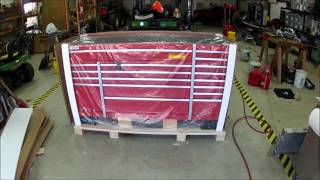 Harbor Freight 61656 72in US General Toolchest 18 Drawer Review Unboxing and Setup
