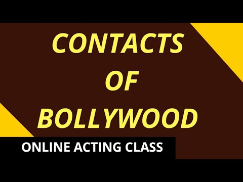 BOLLYWOOD &  ACTING - Film Directory