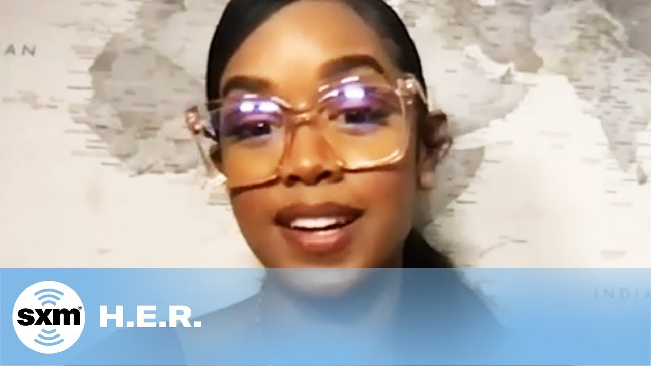 Does H.E.R. Consider 'Back of My Mind' Her First Real Album? #Shorts