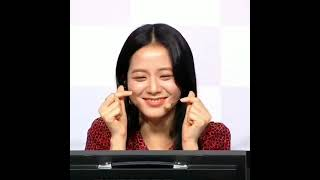 JISOO CUTE SMILE 😊 😃 😍 #BLACKPINK #JISOO #SHORTS