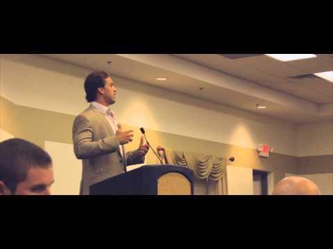 Ben Utecht Speaks at the 2014 Courage Dinner in Rochester