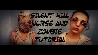 Silent Hill Nurse and Zombie Tutorial Thumbnail