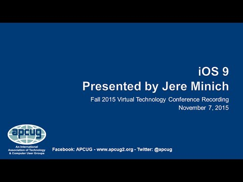 iOS 9 - What's New - Jere Minich