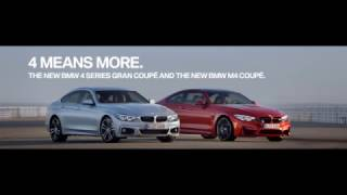 Meet the new BMW 4 Series. Four means more.